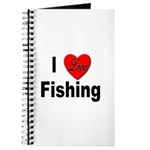 I Love Fishing for Fishing Fans Journal