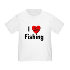I Love Fishing for Fishing Fans T
