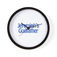 Jeremiah's Godfather Wall Clock
