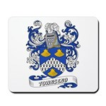 Townsend Coat of Arms Mousepad