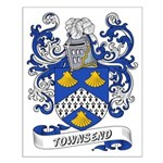 Townsend Coat of Arms Small Poster