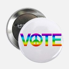 """Vote for Peace 2.25"""" Button"""