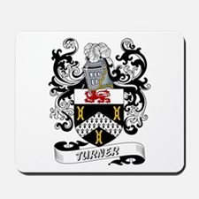 Turner Coat of Arms Mousepad