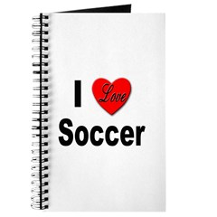 I Love Soccer Journal