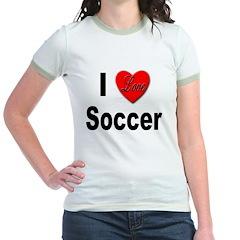 I Love Soccer (Front) T