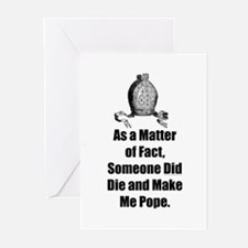 As a matter of fact, Someone  Greeting Cards (Pack