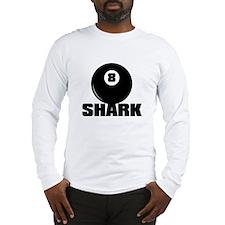 POOL SHARK Long Sleeve T-Shirt