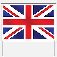 Union Jack UK Flag Yard Sign