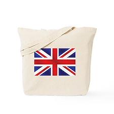 Union Jack UK Flag Tote Bag