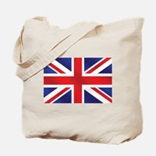 Union Jack UK Flag Tote Bag