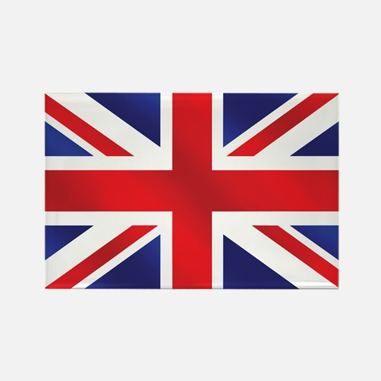Union Jack UK Flag Rectangle Magnet