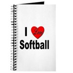 I Love Softball Journal