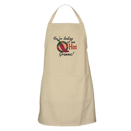 You're Looking at One Hot Gramma! BBQ Apron