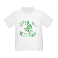 OFFICIAL IRISHMAN T