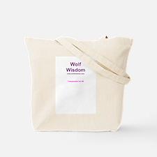 Apollo the Wolf Tote Bag