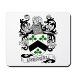 Underhill Coat of Arms Mousepad