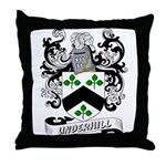 Underhill Coat of Arms Throw Pillow
