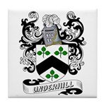 Underhill Coat of Arms Tile Coaster