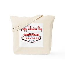 Happy Valentine's Day Las Vegas Tote Bag