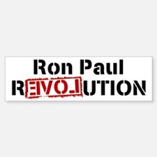PAUL rEVOLution Bumper Bumper Bumper Sticker