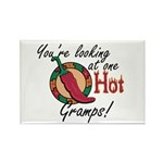 You're Looking at One Hot Gramps! Rectangle Magnet