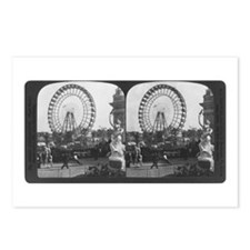 Ferris Wheel Stereograph Postcards (Package of 8)
