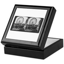 Ferris Wheel Stereograph Keepsake Box