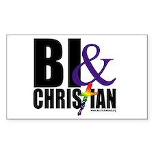 Bi & Christian Decal