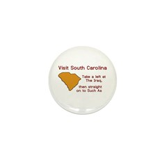 Visit South Carolina..Such As Mini Button (100 pac