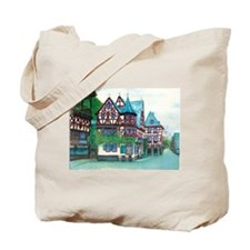 Crooked little house Tote Bag