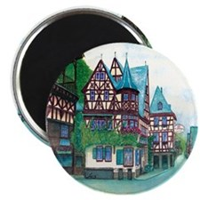"""Crooked little house 2.25"""" Magnet (100 pack)"""