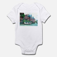 Crooked little house Infant Bodysuit