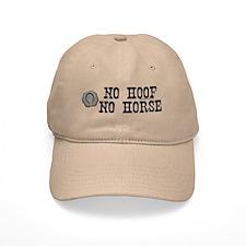 No hoof, no horse. Baseball Cap