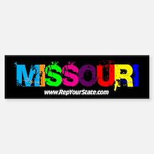 Colorful Missouri Bumper Bumper Bumper Sticker