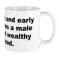 Funny Male quotes Mug
