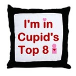 Cupids Top 8 Throw Pillow