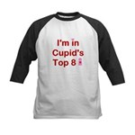 Cupids Top 8 Kids Baseball Jersey