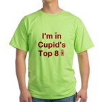 Cupids Top 8 Green T-Shirt