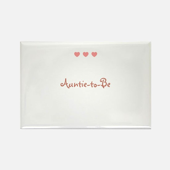 Auntie-to-Be Rectangle Magnet