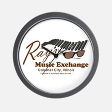 Ray's Music Exchange Wall Clock