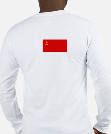 Communist 'Right is Wrong' Long Sleeve T-Shirt