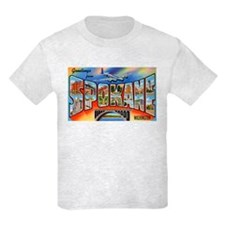 Spokane Washington Greetings T-Shirt