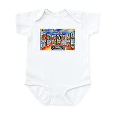 Spokane Washington Greetings Infant Bodysuit