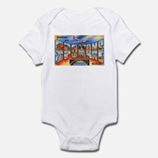 Spokane Washington Greetings Infant Bodysuit
