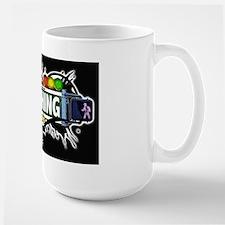 Flushing, Queens NYC (Black) Mug