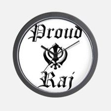 Proud Raj Wall Clock