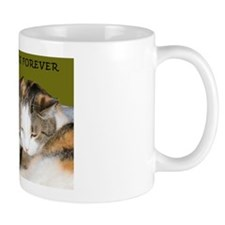 BFF Cats Snuggling Mug