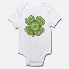 Celtic Shamrock Infant Bodysuit