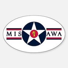Misawa Air Base Oval Decal