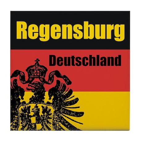 Regensburg Deutschland Tile Coaster